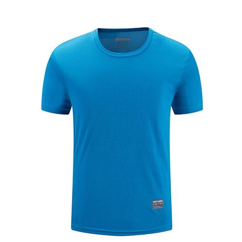 蓝色T恤衫