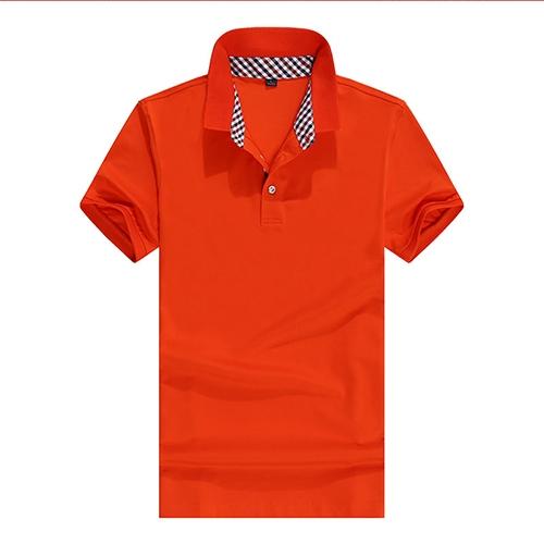 橙色 POLO衫