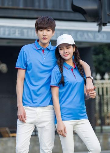 吴中蓝色文化衫