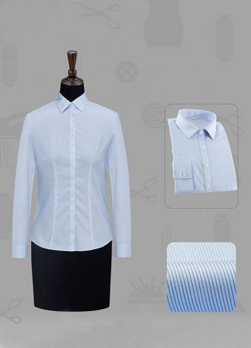 长袖正规领衬衫