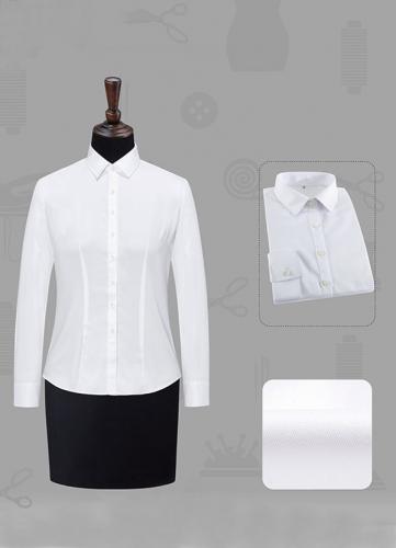 女长袖正规领衬衫